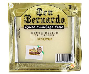 Don Bernardo Queso viejo de oveja con denominación de origen La Mancha 250 gramos