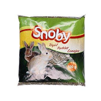 Carrefour Comida para Conejos Snoby 500g 500 gr