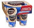 Bebida de café cappuccino con leche 4 x 190 ml Nescafé Shakissimo