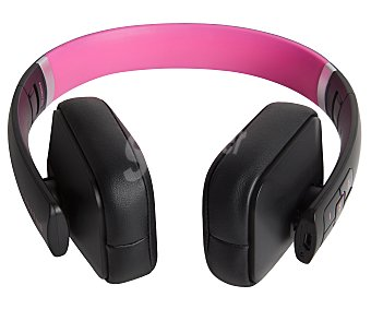 ENERGY BT2 Auricular Bluettoth plegable, con micrófono, color rosa