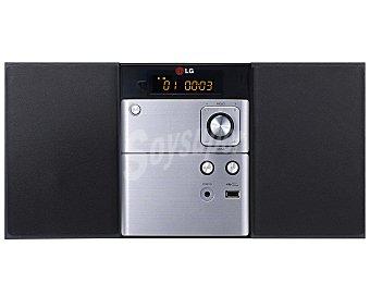 LG Micro cadena hifi con sintonizador de radio am/fm, conector usb, Bluetooth y potencia de 10W CM1530BT 1 unidad