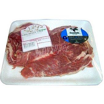 Guadiala Pluma fresca de cerdo ibérico peso aproximado Bandeja 400 g