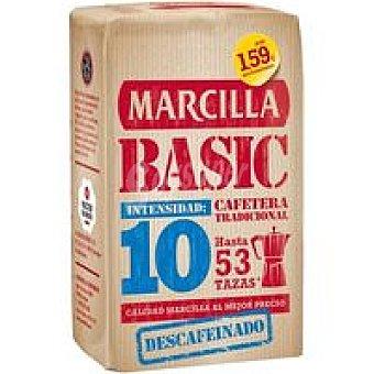 Marcilla Café Molido Numero 10 Descafeinado Basic