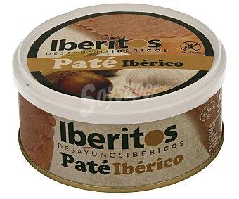 Iberitos Paté de cerdo ibérico Lata 250 g