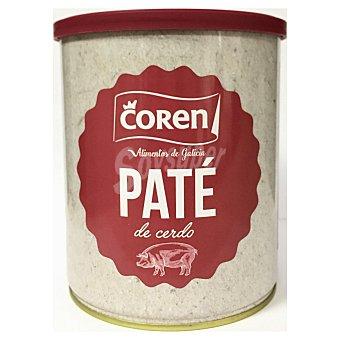 Louriño Paté de hígado de cerdo Coren sin gluten sin lactosa 850 g