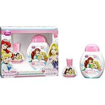 PRINCESAS Set colonia-gel Pack 1 unid