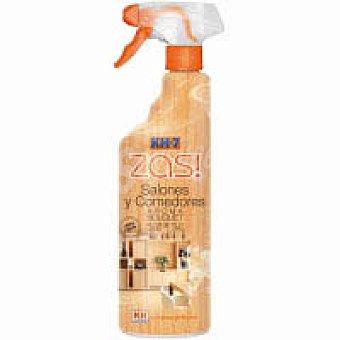 Kh-7 Zas Limpia muebles salones y comedores aroma flor de tilo miel y musgo pistola 750 ml 750 ml