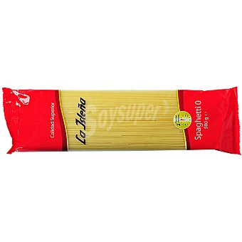 LA ISLEÑA espagueti nº 0 paquete 500 g