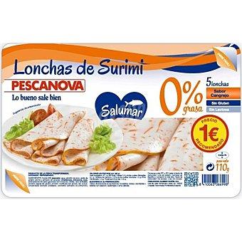 Pescanova Lonchas de surimi Bandeja de 110 g