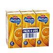 Néctar de naranja sin azúcares añadidos Pack 6 unidades x 200 ml Juver