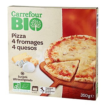 Carrefour Bio Pizza 4 quesos 350 g