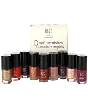 Badgequo Set de uñas con 9 esmaltes Classique Collection 1 ud