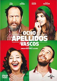 PARAMOUNT Ocho Apellidos Vascos DVD 1 ud