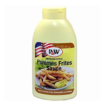 P&W Crema patatas fritas 450 ml