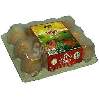 Roig Huevos morenos clase L Estuche 12 unidades