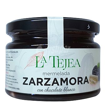 La Tejea Mermelada de zarzamora con chocolate blanco 270 g
