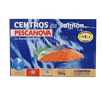 Pescanova Centros de salmón Caja 300 g