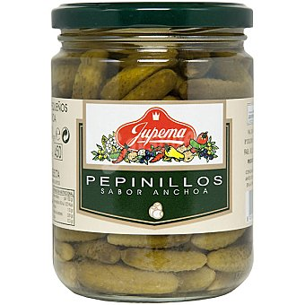 Jupema Pepinillos sabor anchoa Frasco 250 g neto escurrido