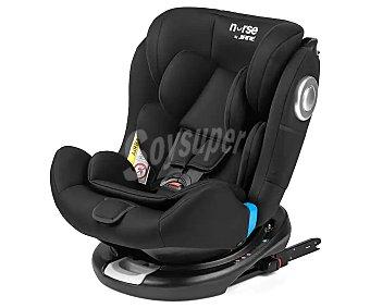 Baby nurse Silla de auto para grupos 0/1/2/3, color negro step