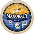 queso tierno de cabra D.O. Majorero peso aproximado pieza 3,5 kg Maxorata