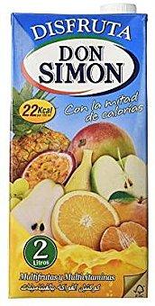 Néctar Don Simon Disfruta Don Simon Disfruta - Néctar De Frutas, Multifruta, Sin Azúcar 2 L