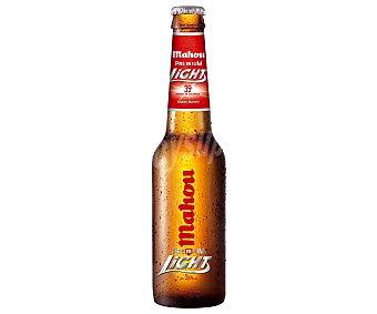 Mahou Cerveza rubia light Botellin 33 cl