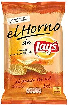 Lay's Patatas fritas al punto de sal Receta al Horno Bolsa de 150 g