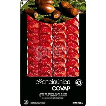 Esenciaunica Covap lomo de bellota 100% iberico en lonchas  envase 120 g