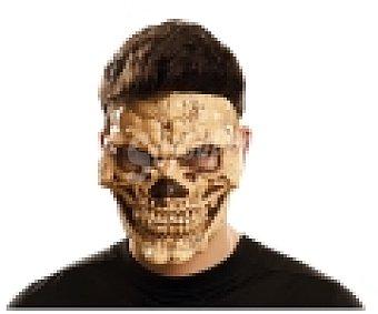 My other me Complemento para disfraz Halloween, máscara de calavera siniestra 1 unidad