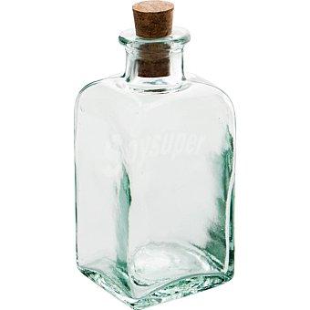 QUID Bari Frasco Cuadrado de vidrio con tapón de corcho 0,10 l