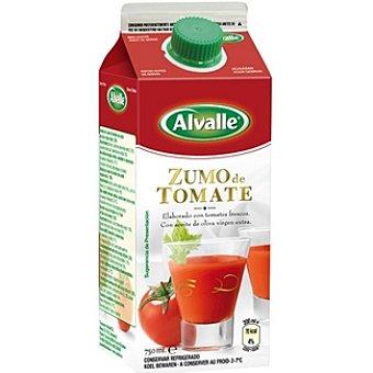 Alvalle Zumo Tomate Alvalle Brick de 750 ml