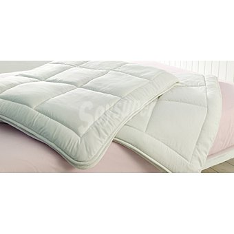 CASACTUAL Antiácaros Relleno nórdico blanco para cama 105 cm 300 g