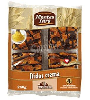 Montes Lara Nidos de crema 240 g