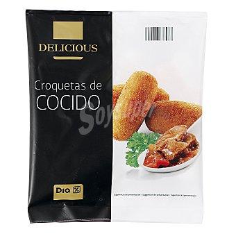 DIA DELICIOUS Croquetas de cocido artesanas bolsa 500 gr Bolsa 500 gr