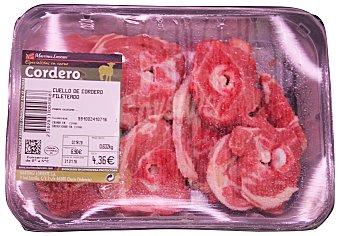 Martínez Loriente Cordero cuello rodajas fresco Bandeja 670 g peso aprox. (8 unidades)