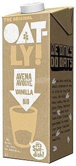 OATLY bebida de avena ecológica sabor vainilla  envase 1 l