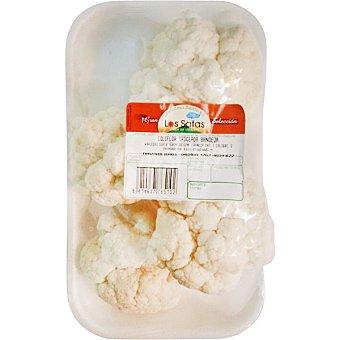 LOS SATAS Coliflor blanca troceada Bandeja 400 g