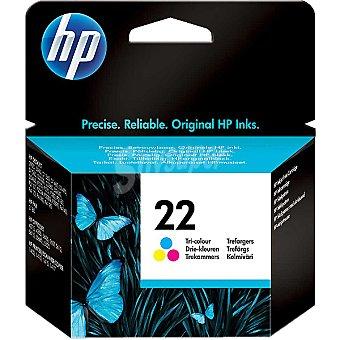 HP Nº 22 cartucho tricolor