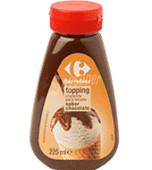 Carrefour Sirope de chocolate Topping 225 g