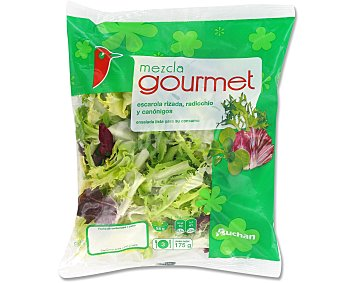 Auchan Ensalada Mezcla Gourmet Bolsa de 175 gramos