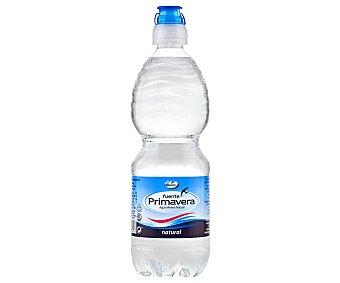 Fuente Primavera Agua mineral sin gas con tapón sport Botella de 50 centilitros