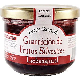 LIEBANATURAL Guarnición de frutos silvestres Frasco 270 g