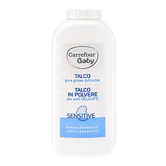 Carrefour Baby Talco para pieles delicadas 250 g