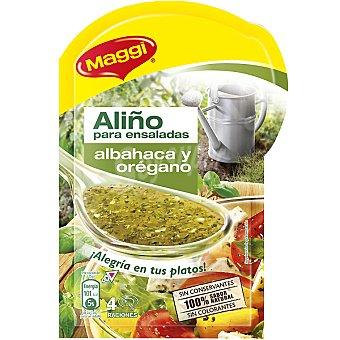 Maggi Aliño para ensaladas albahaca y oregano Sobre 10 g