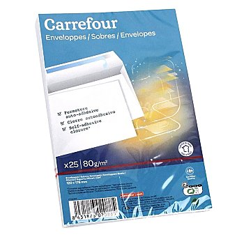 Carrefour Bolsas Autoadhesivos 120x176mm 25 ud