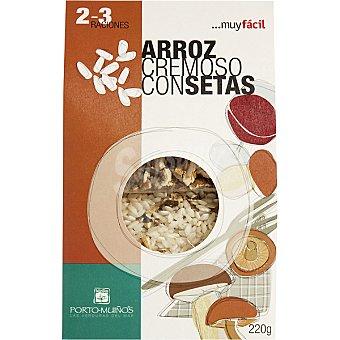PORTO MUIÑOS arroz cremoso con setas  envase 220 g