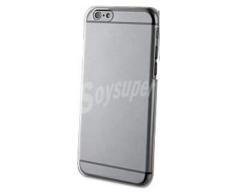 MUVIT Carcasa trasera para iphone 6, transparente, 6 carcasa