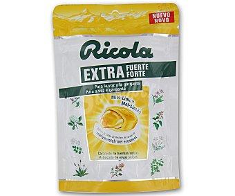 RICOLA Caramelos de hierbas suizas con miel y limón para la voz y la garganta bolsa de 61 gramos