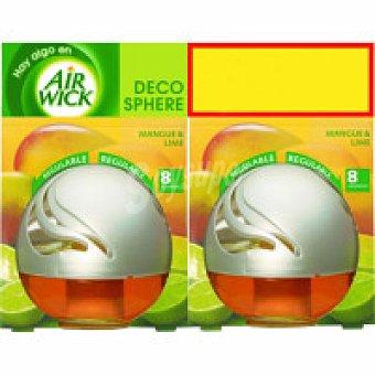 AIR WIK Decospher Ambientador de mango Pack 2x1 unid