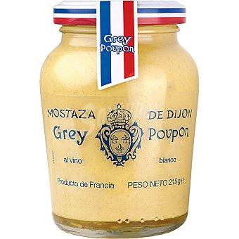 Grey Poupon Mostaza de Dijon al vino blanco Tarro 215 g
